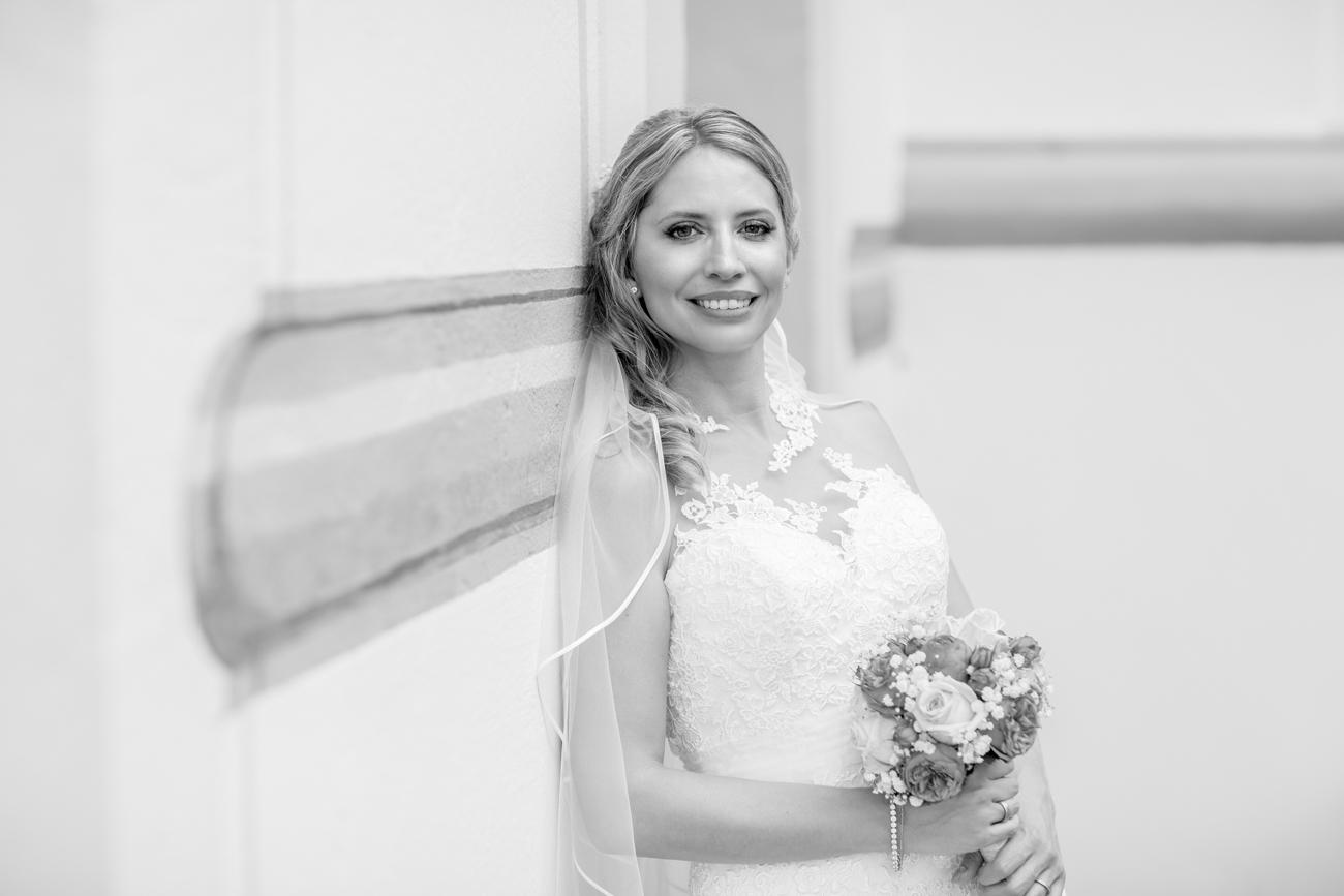 Bridal Portrait im Schloss Tettnang